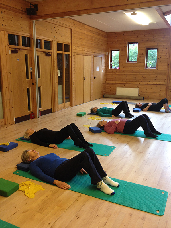 Ruth Partington Pilates Class