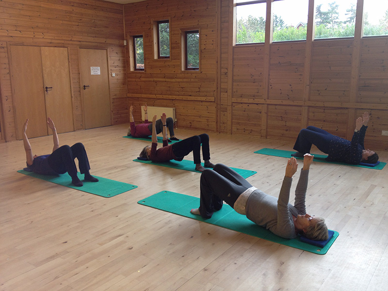 Ruth Partington Pilates Class Poynton